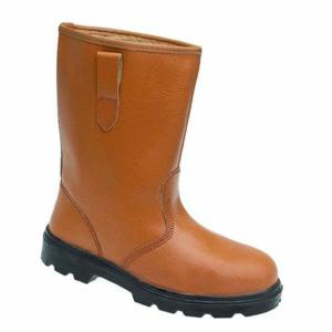 9101 Tan Lined S1P Rigger Boot